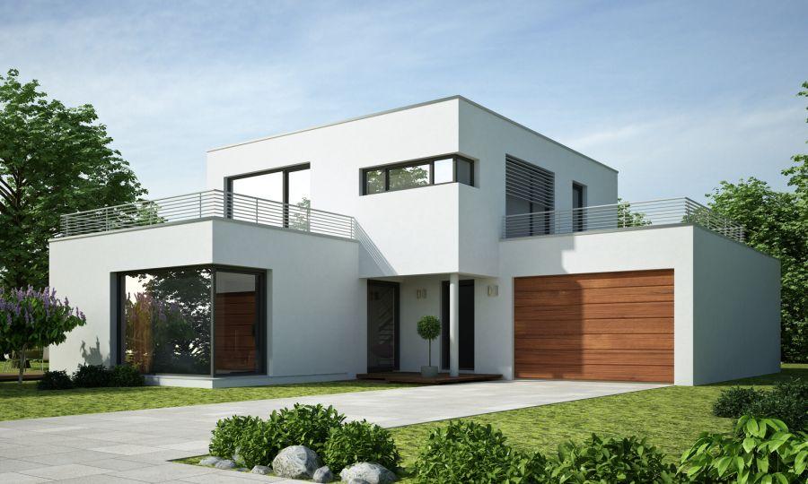 Musterh user ms bautechnik martin schorr for Flachdachhaus mit garage
