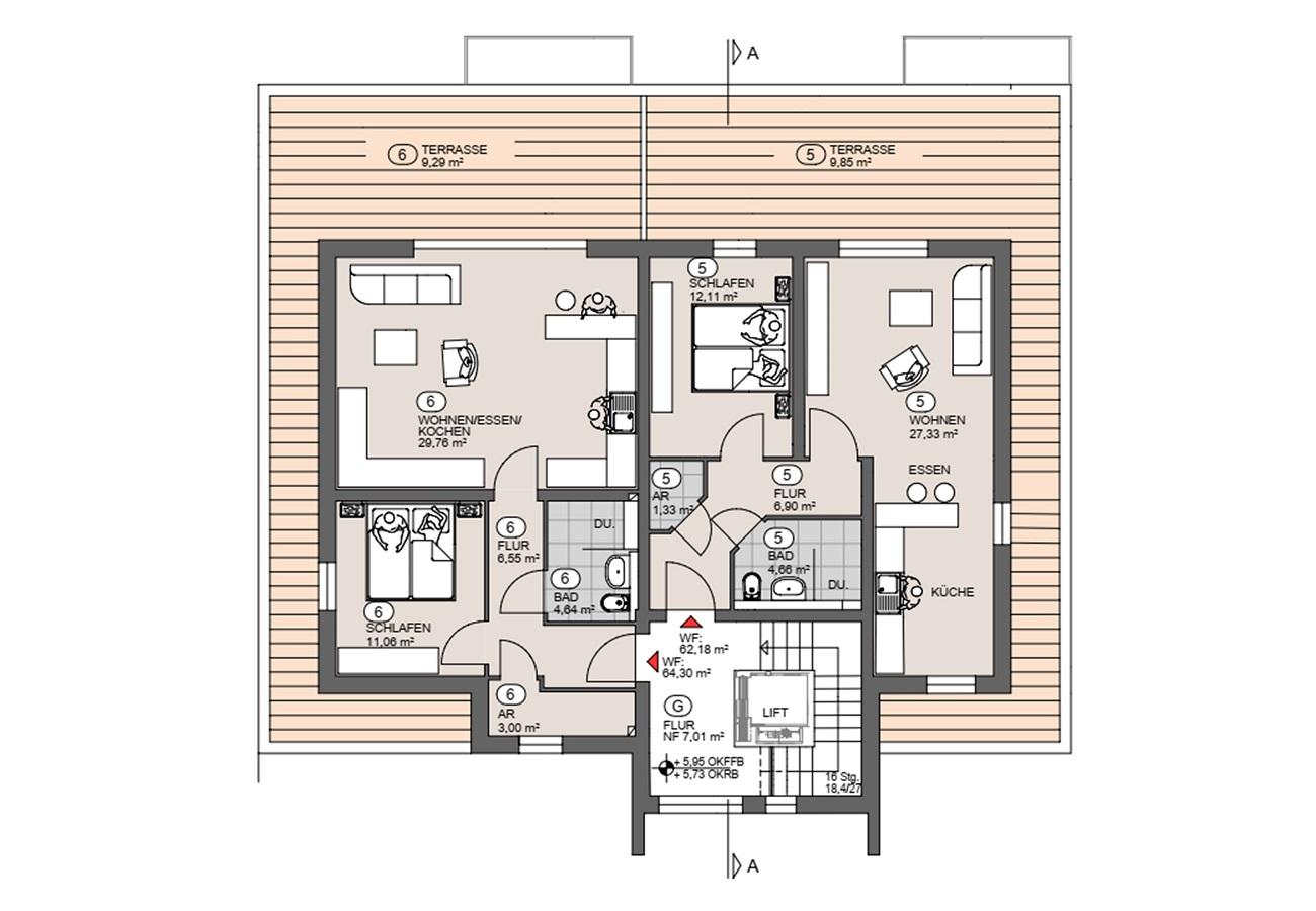 Penthouse-Wohnungen